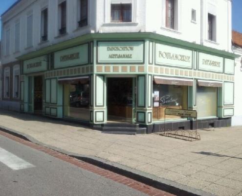 Boulangerie Pouleur avant travaux.