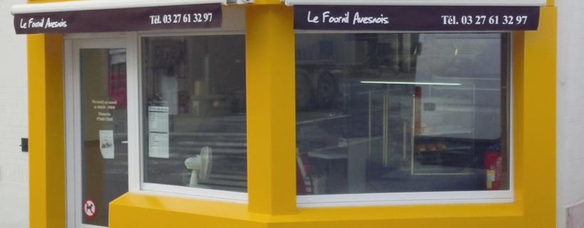 "façade et enseigne ""le fournil avesnois"""