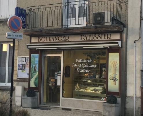 Boulangerie Les délices de Margot & Kevin avant travaux