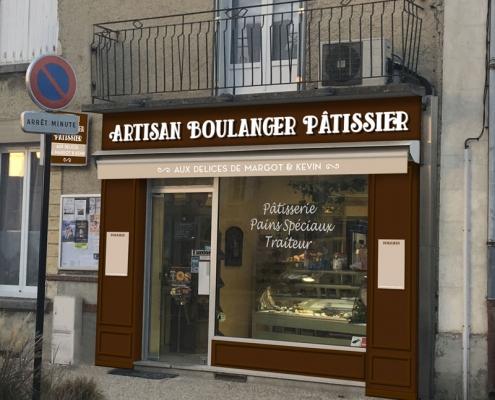 Boulangerie Les délices de Margot & Kevin projet